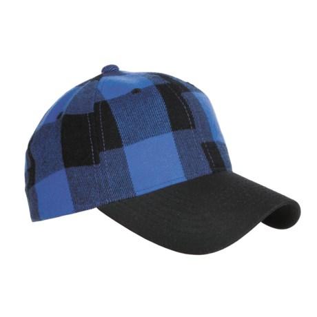 Outdoor Cap Plaid Hat (For Men)