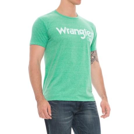 Wrangler Retro Logo T-Shirt - Short Sleeve (For Men)
