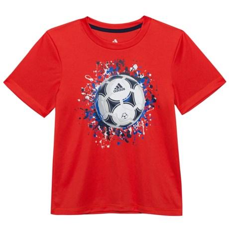 adidas ClimaLite® USA T-Shirt - Short Sleeve (For Little Boys)
