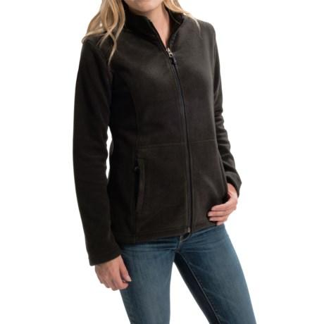 White Sierra Sierra Mountain Fleece Jacket (For Women)