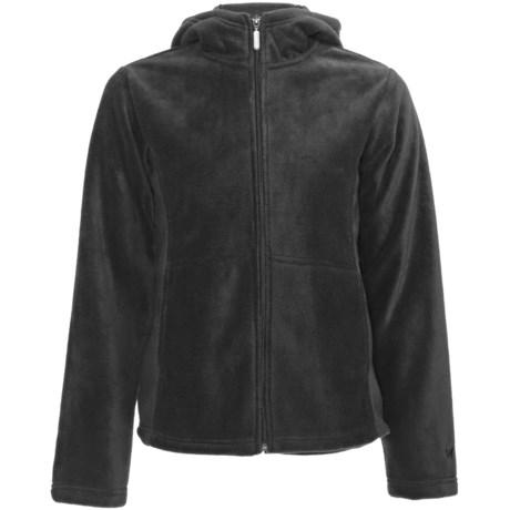 White Sierra Sierra Mountain Hoodie Fleece Jacket (For Women)