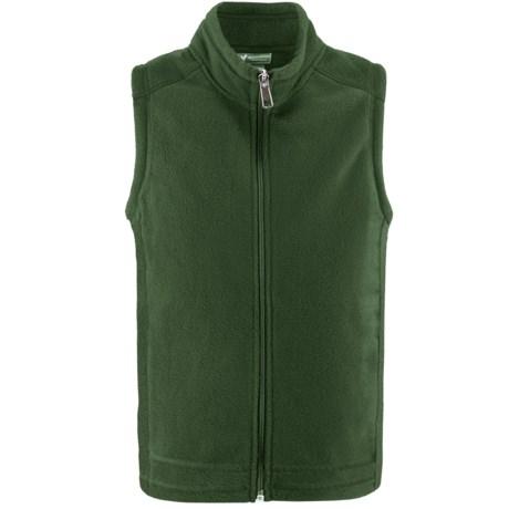White Sierra Sierra Mountain Fleece Vest (For Little and Big Kids)