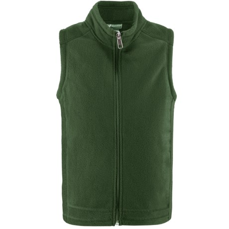 White Sierra Sierra Mountain Fleece Vest (For Little and Big Kids)