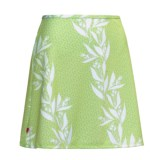 Terry Stretch Mini Skirt (For Women)