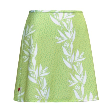 Terry Precision Cycling Terry Stretch Mini Skirt (For Women)