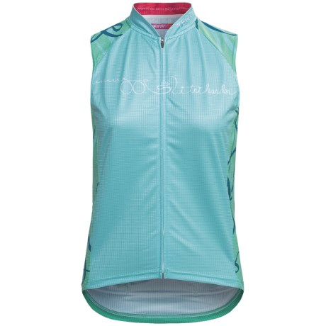 Terry Signature Cycling Jersey - Sleeveless (For Women)