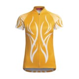 Terry Peloton Cycling Jersey - Short Sleeve (For Women)