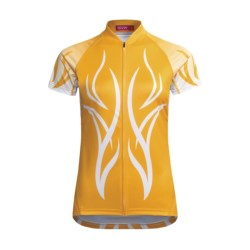 Terry Peloton Cycling Jersey - Short Sleeve (For Women)