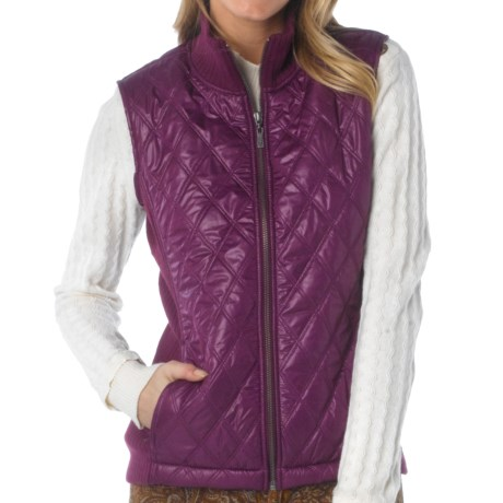 prAna Diva Vest - Diamond Quilted, Sherpa Lining (For Women)