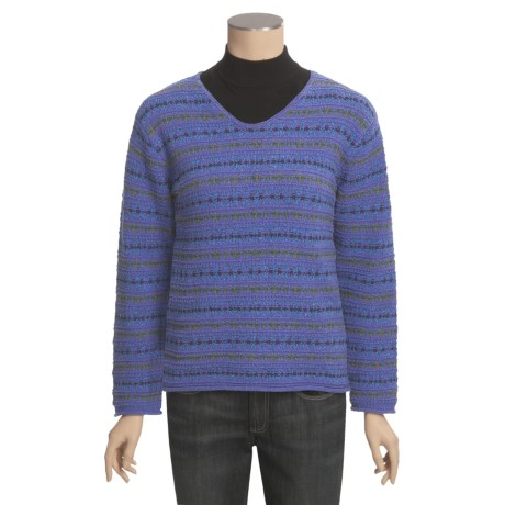 ALPS Meadowbrook Sweater - V-Neck (For Women)