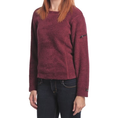 ALPS Monterey Pullover Shirt - Boucle Fleece, Long Sleeve (For Women)