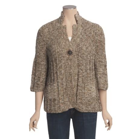 ALPS Karissa Cardigan Sweater - 3/4 Sleeve (For Women)