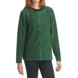 ALPS Shady Glen Cardigan Sweater - Boucle Fleece (For Women)