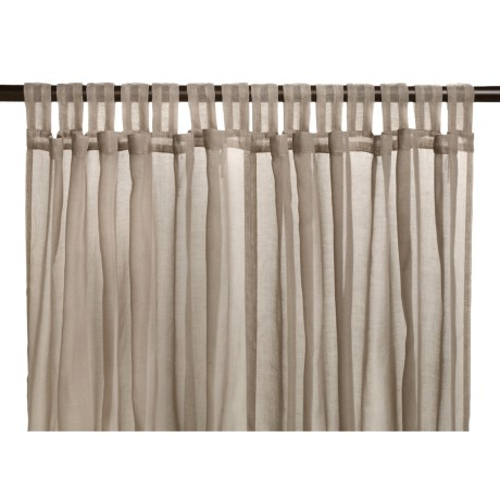 "Commonwealth Home Fashions Sorrento Curtains - 84"", Tab-Top"
