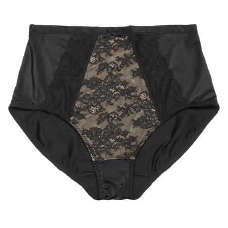 Lace Panel Underwear - Briefs (For Women)