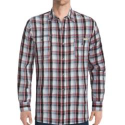 Dakota Grizzly Sinclair Vintage Cotton Jacquard Shirt - Long Roll-Up Sleeve (For Men)