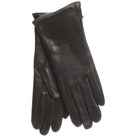 Cire by Grandoe Classique Gloves - Leather (For Women)