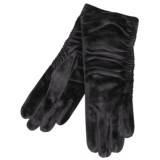 Cire by Grandoe Velvet Touch Gloves - Velvet Velour (For Women)