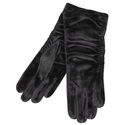 Cire by Grandoe Velvet Touch Gloves - Velvet Velour (For Women)