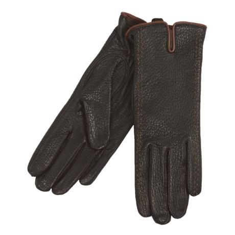 Cire by Grandoe Sequoia Gloves - Deerskin Leather (For Women)