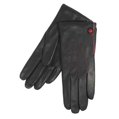 Cire by Grandoe Chic Gloves - Premium Sheepskin Leather (For Women)