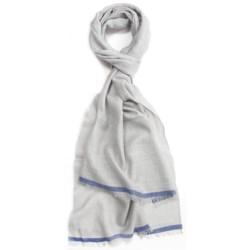 Johnstons of Elgin Wool-Silk-Linen Scarf (For Men and Women)