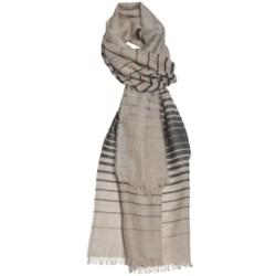 Johnstons of Elgin Scarf - Ombre Stripe (For Men and Women)
