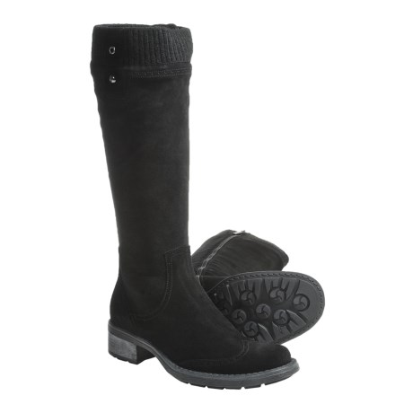 Aquatalia by Marvin K. Slice Tall Boots - Weatherproof, Suede (For Women)