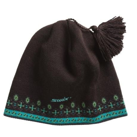 Swix Mina Beanie Hat - Merino Wool (For Men and Women)