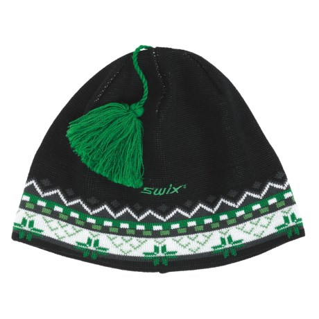 Swix Jesse Tassel Beanie Hat (For Men and Women)