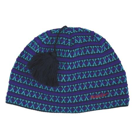 Swix Freya Tassel Beanie Hat (For Women)