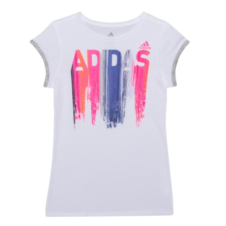 adidas On a Roll T-Shirt - Short Sleeve (For Big Girls)