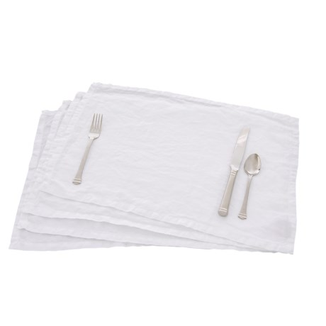 Bambeco Organic Everyday Placemats - Linen, 4-Piece Set
