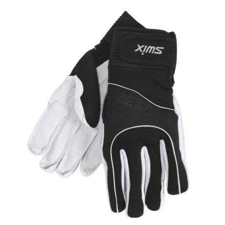Swix New Cross Soft Shell Gloves - Insulated (For Men)
