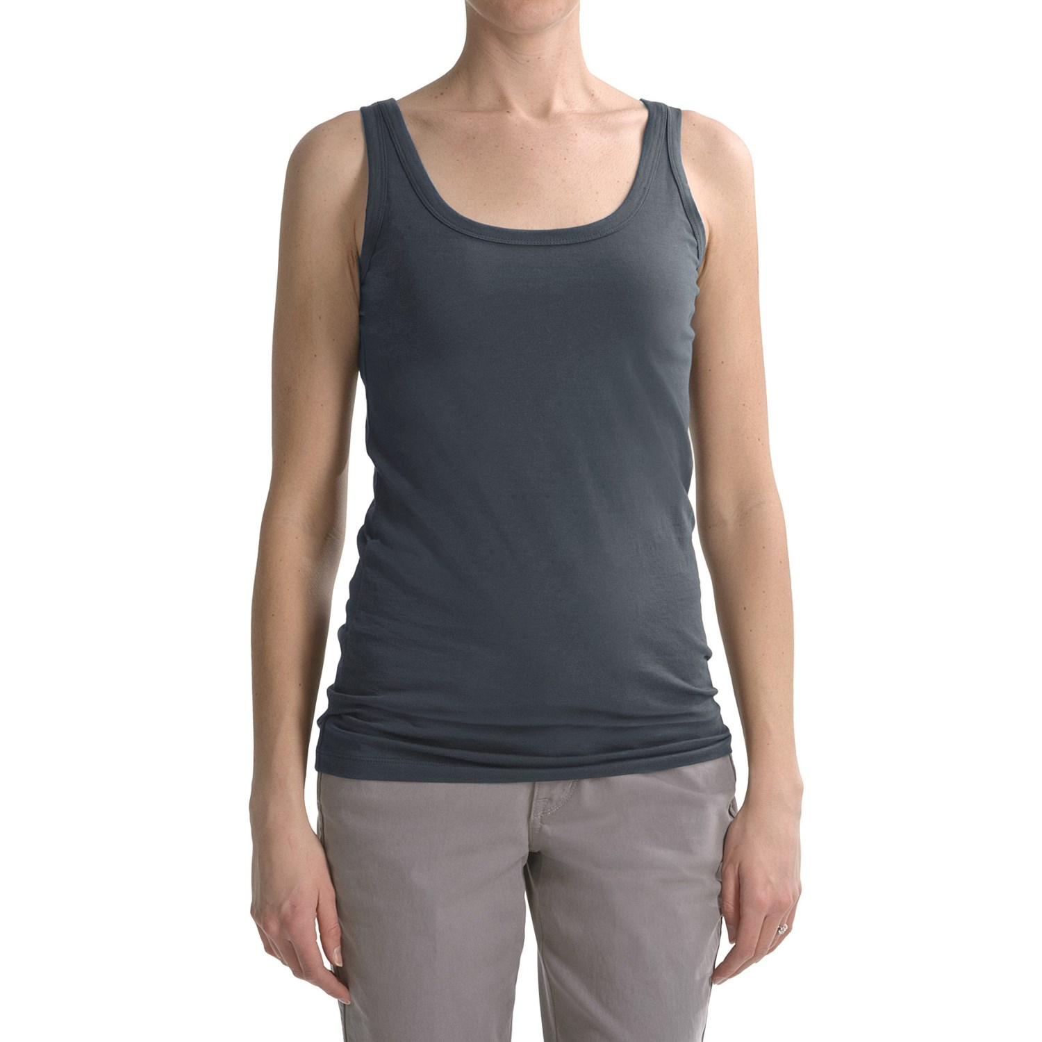Apr 30,  · James Perse Long Jersey Tank, Racerback Best Loved Bra Cami, and Eileen Fisher Organic Cotton Long Ribbed Tank are probably your best bets out of the 4 options considered.