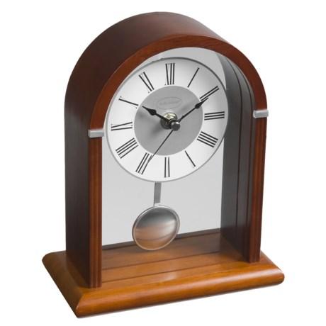 Kathy Ireland Deco Arch Mantle Clock