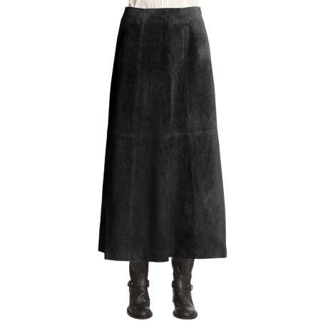Scully Boot Skirt - Boar Suede (For Women)