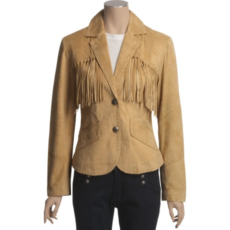 Scully Fringed Suede Jacket (For Women)