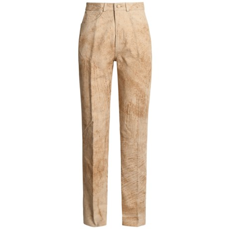 Scully Washable Suede Pants - Tapered Leg (For Women)