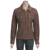 Scully Washed Lamb Leather Jacket (For Women)