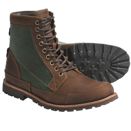 "Timberland Earthkeepers Classic Warm Lined Boots - 6"", Leather (For Men)"
