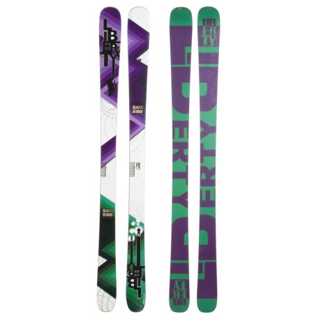 Liberty LTE Alpine Skis - Twin Tip, Park and Pipe
