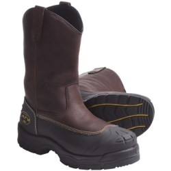 Oliver AT 65-391 Pull-On Steel Toe Riggers Work Boots - Leather (For Men)