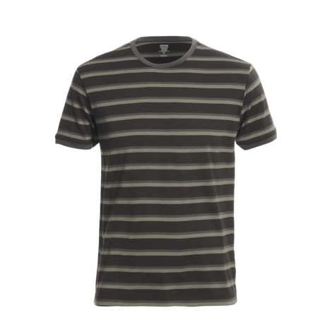 Icebreaker Superfine 200 Stripe Tech T-Shirt - Merino Wool, Short Sleeve (For Men)