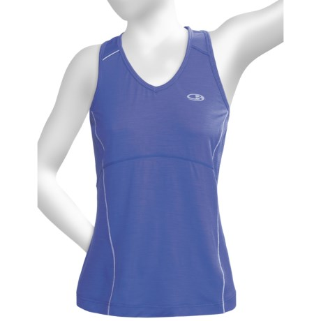 Icebreaker GT Run Rush Tank Top - Merino Wool (For Women)