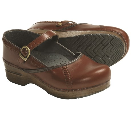 Dansko Marah Mary Jane Clogs - Leather (For Women)