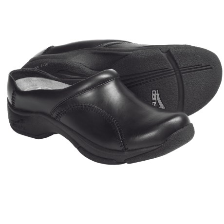 Dansko Kari Open-Back Clogs - Leather (For Women)
