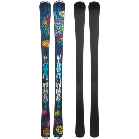 Nordica Unknown Legend Alpine Skis - XBI CT Bindings (For Women)