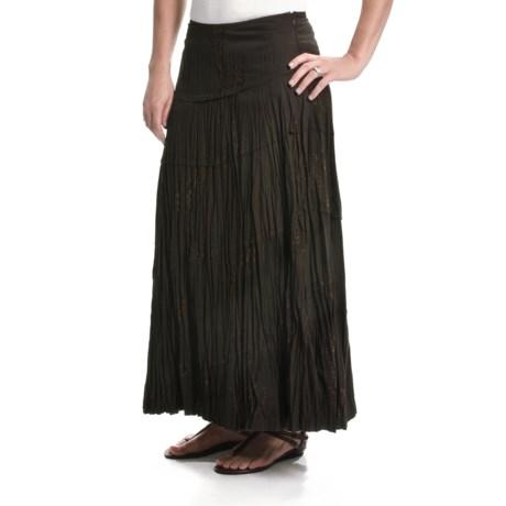 Tribal Sportswear Multi-Panel Crinkle Skirt (For Women)