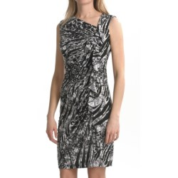 TRIBAL Travel by Tribal Sportswear Ruffled Jersey Dress - Sleeveless (For Women)